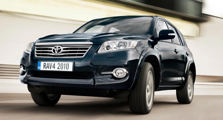 Toyota och Tesla gör eldriven RAV4