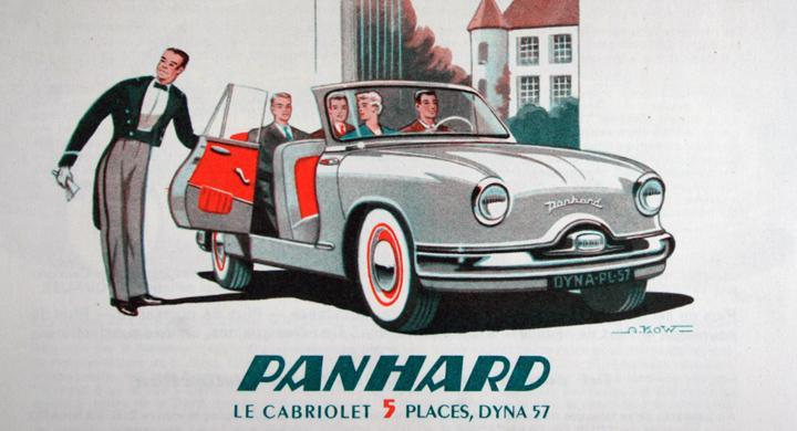 Klassiska bilmärken: Panhard