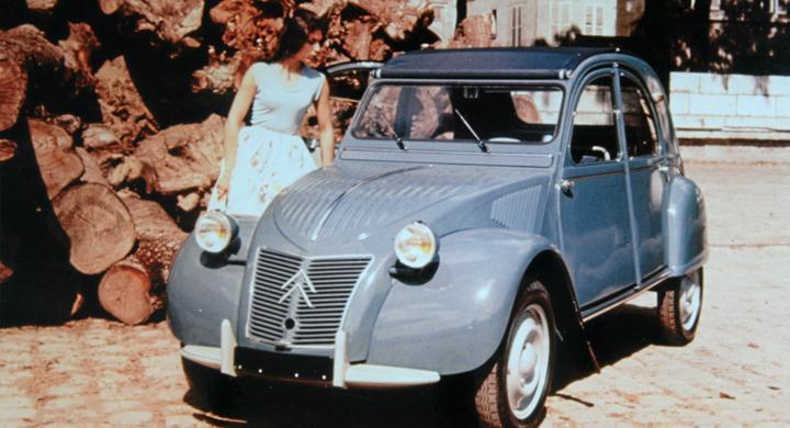 Klassiska bilmärken: Citroën