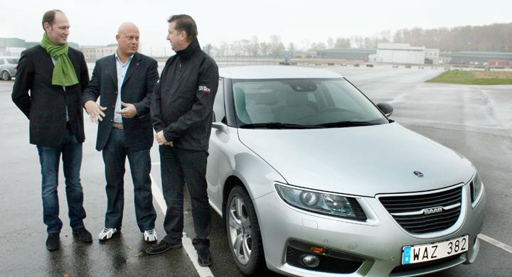 Koenigsegg köper Saab 9-5