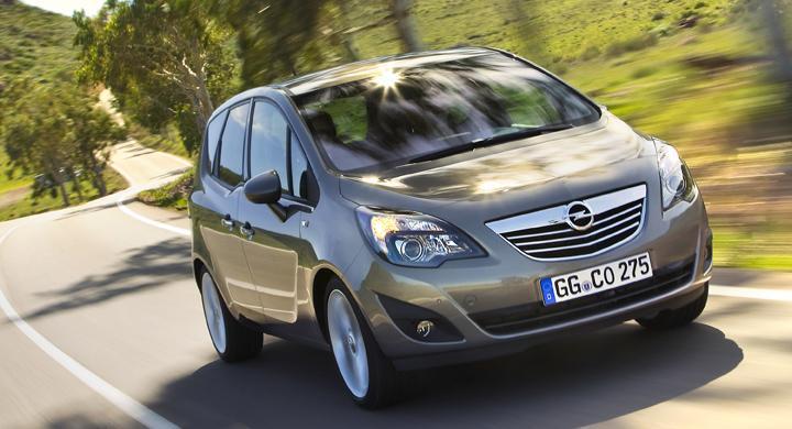 Årets Familjebil 2010: Opel Meriva