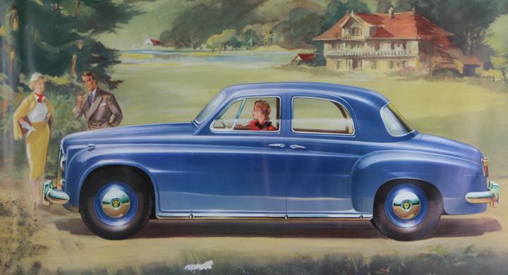 Klassiska bilmärken: Rover