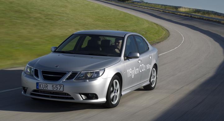 Provkörning: Saab 9-3 TTiD