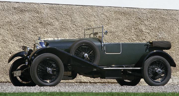 Klassiska bilmärken: Bentley