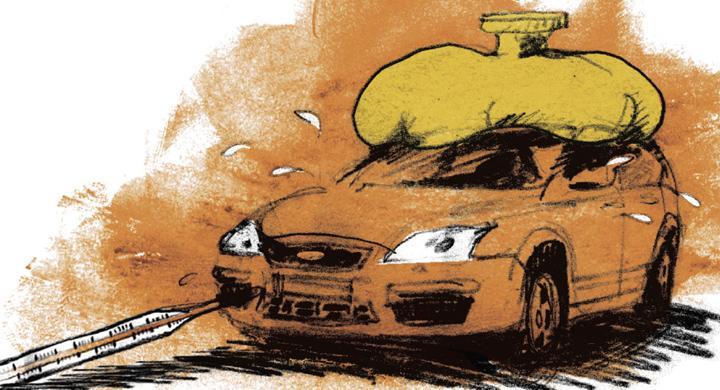 Bilfrågan: Vad sysslar tempmätaren med?