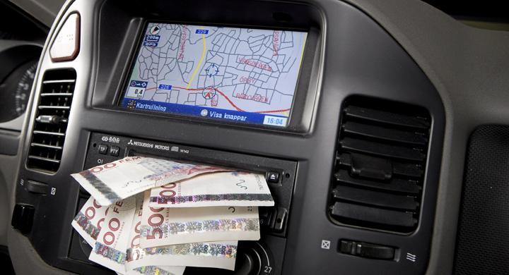 Olika priser för GPS-uppdateringen