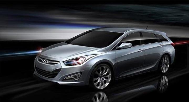 Hyundai i40 Kombi – första bilderna