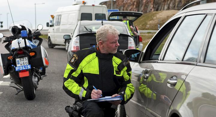 Polisen skärper kontroll av rattfylla