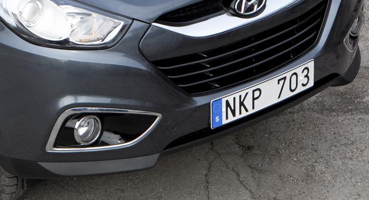 Bilfrågan: Tillåtet med liten registreringsskylt?