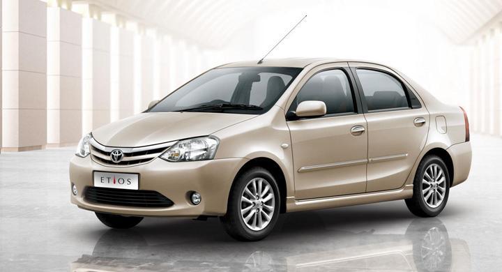 Toyota Etios – lågprisbil för Indien