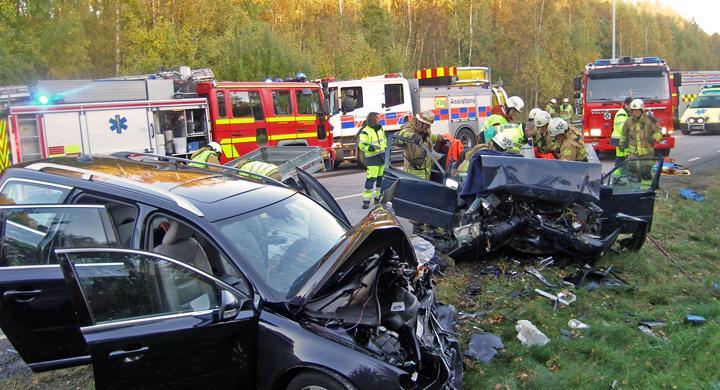 Dödsfallen i trafiken minskar kraftigt