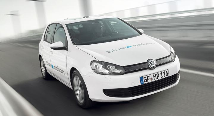 Volkswagen Golf Blue-e-motion – Golf som elbil här 2014