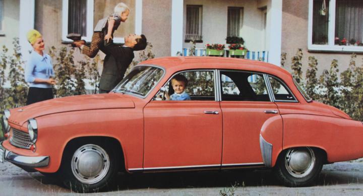 Klassiska bilmärken: Wartburg