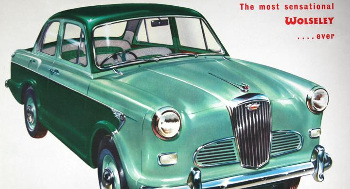 Klassiska bilmärken: Wolseley