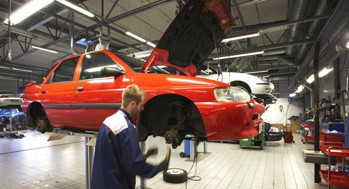 Ford lovar lägsta servicepris
