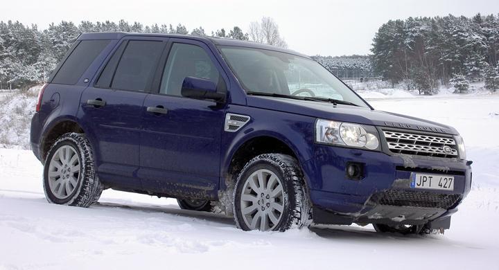 Provkörning: Land Rover Freelander (2011)