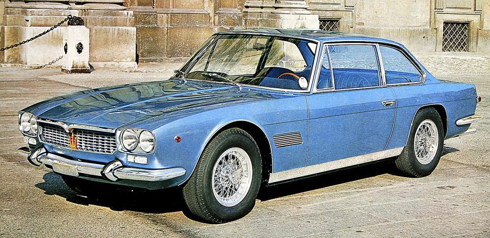 Klassiska bilmärken: Maserati