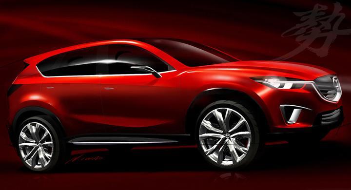 Mazda Minagi Concept – ny crossover