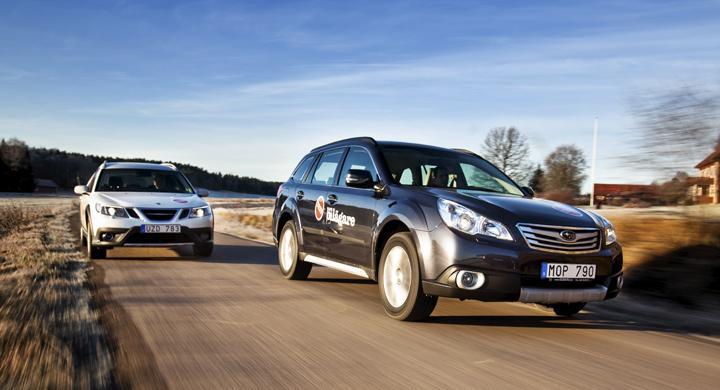 Subaru vill bygga gasbilar hos Saab