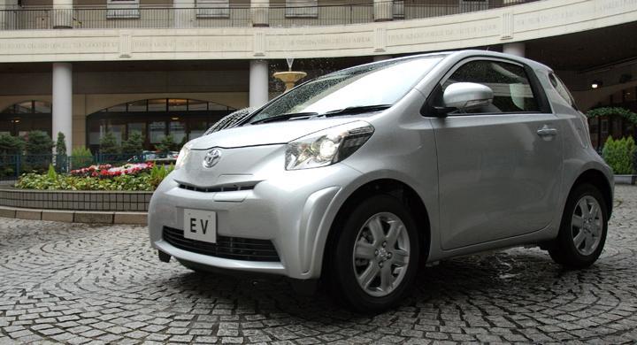 Toyota iQ EV – ny elbilsprototyp