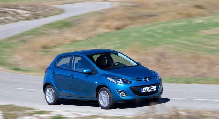 Mazda2: Miljöbil med bensinmotor