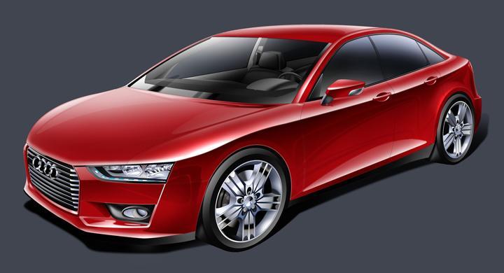 Audi A4 – ny generation 2014