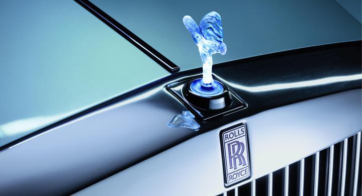 Rolls-Royce 102EX – elektrisk lyx