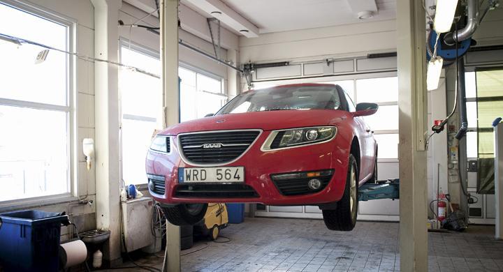Saab kämpar med krånglande 9-5