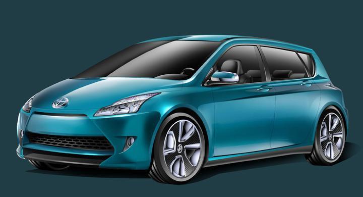 Toyota Prius-c – hybrid för storstan