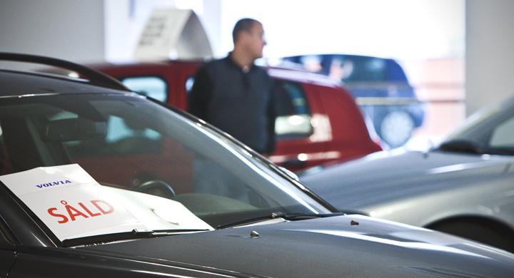 Bilförsäljningen fortsätter uppåt