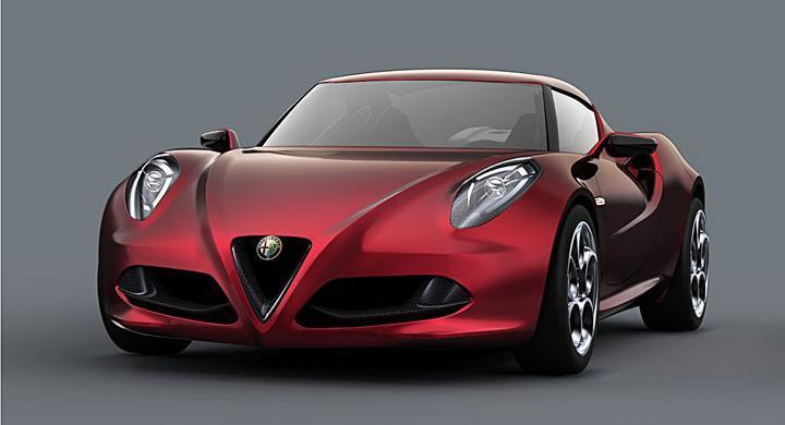 Alfa Romeo 4C: Lätt, nätt och rätt