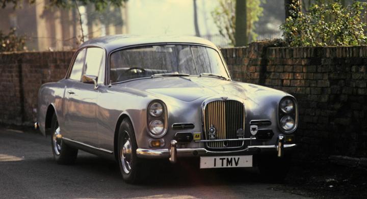 Klassiska bilmärken: Alvis
