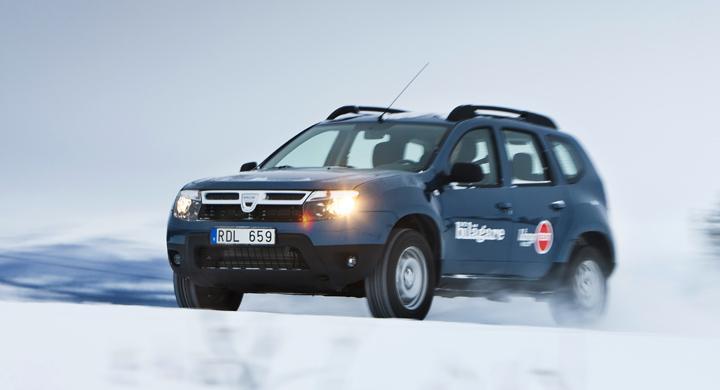 Långtest 2011: Dacia Duster i vintertest