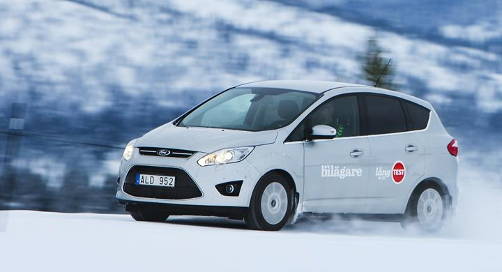 Långtest 2011: Ford C-Max i vintertest