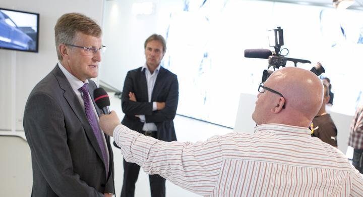 Bilbranschen hyllar Jan Åke Jonsson