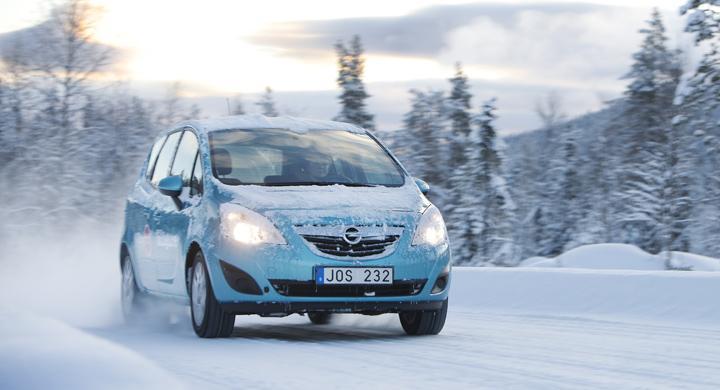 Långtest 2011: Opel Meriva i vintertest