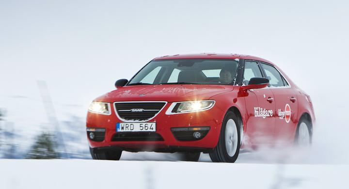 Långtest 2011: Saab 9-5 i vintertest