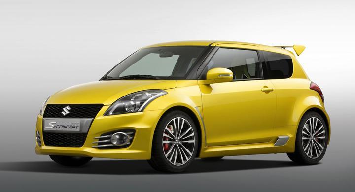 Suzuki Swift S-Concept – nyfiken gul
