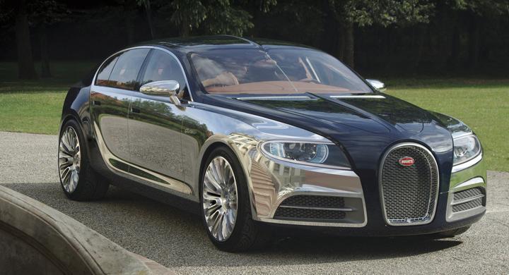 Bugattis supersedan får grönt ljus