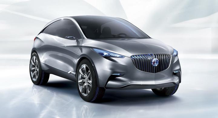 Buick visar framtida hybridsuv