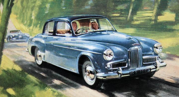 Klassiska bilmärken: Humber