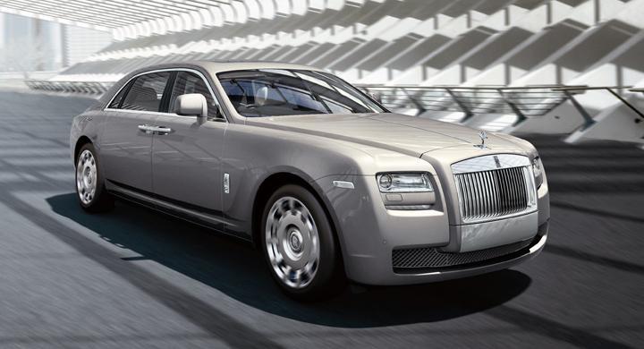 Rolls-Royce Ghost på sträckbänken