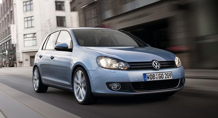 Volkswagen Golf etta i Europa