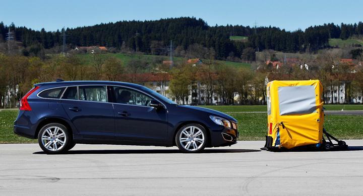 Volvos nödbromssystem bäst i test