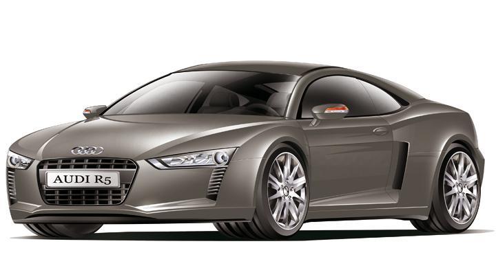 Audi tätar luckan med nya R5