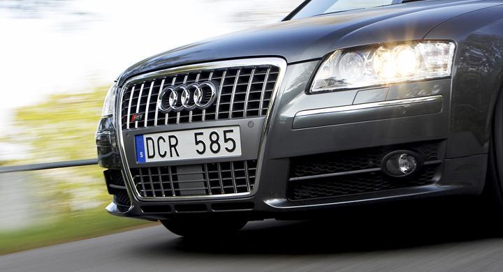 April rekordmånad för Audi