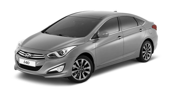 Hyundai i40 sedan – första bilderna