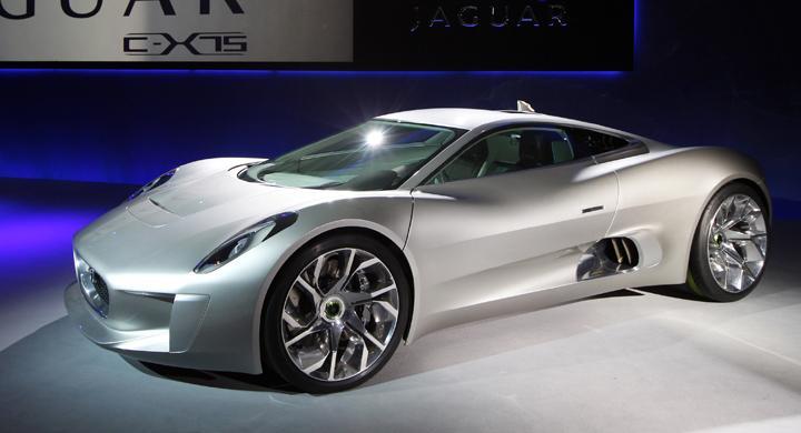 Jaguar C-X75 blir produktionsbil
