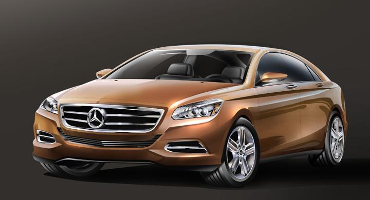 Smygtitt på nästa Mercedes C-klass