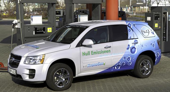 Opel satsar på vätgasdrift